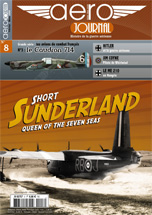 Couverture Aéro-journal n°8 : Short Sunderland Queen of the Seven Seas